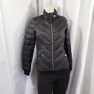 Hollister Down Puffer Jacket 				 Size Small